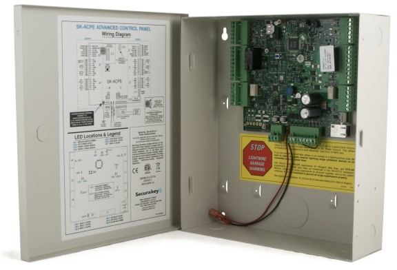 Wiring Diagram Access Control Panel : Networked access control systems proximity card access access